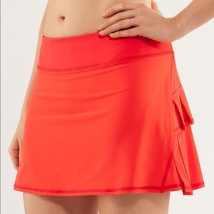 Lululemon 'Pace Setter' Skirt w/Built-In Shorts